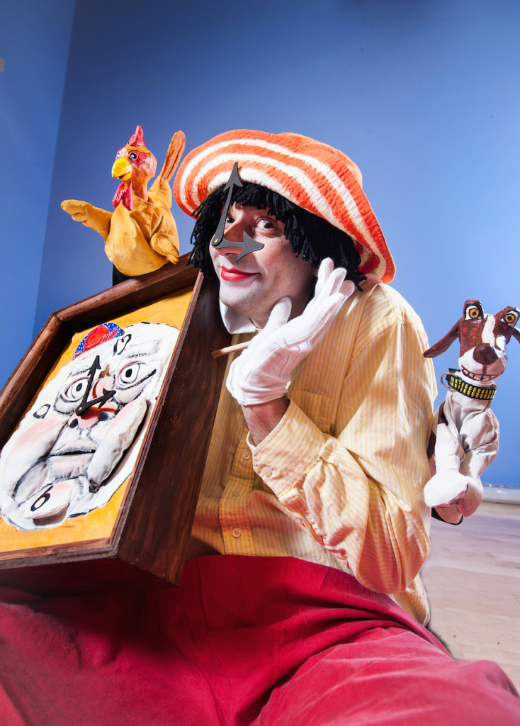 Paulino Brener is playing Ms.Tock in The On-Time Circus. This traveling show will be up and running by mid June and ready to hit the road!!